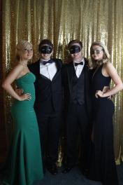 Maddy Bradley (11), Drew Monsour (12), Nathan Sulkin (12), and Emily Allara (11)